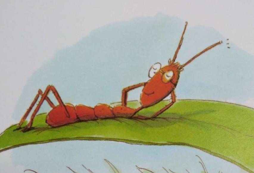 《小蚂蚁》儿童故事绘本分享