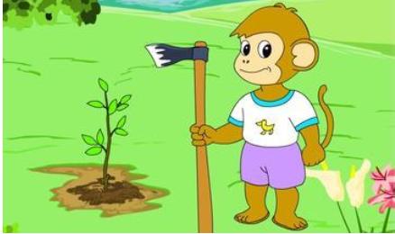 《植树》儿童故事绘本分享,故事集《植树》儿童故事绘本分享