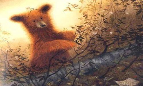《爱听故事的大熊》儿童绘本故事分享配图1