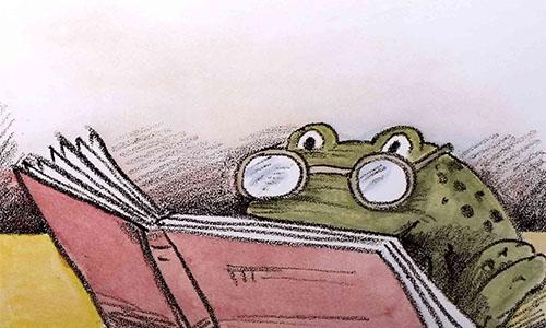 《癞蛤蟆读书记》儿童绘本故事分享配图3